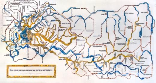 План-схема операции по развитию системы циркуляции