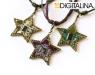 Кулон/брелок «Digital Star — L»