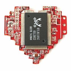Брошь пиксельное сердце   600 руб.