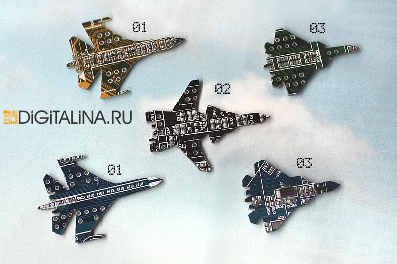 Значки самолеты