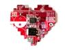 Брошь пиксельное сердце | 512 руб.