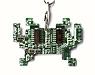 Кулон/брелок «Space Invader»