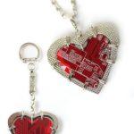 Кулон/брелок «Big heart»