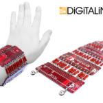 Браслет «Digital-L» c  радиодеталями