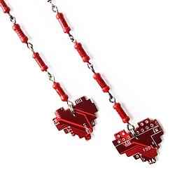 Серьги «Pixel heart» | 800 руб.