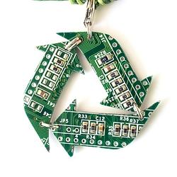 Кулон/брелок «Recycling» | 700 руб.