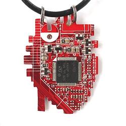 Кулон «Anatomic pixel heart» — «Анатомической пиксельное сердце» | 800 руб.