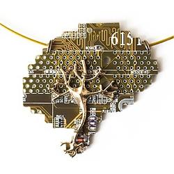 Подвеска Cyber brain neuron. | 1100 руб.