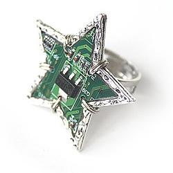 Кольцо «Digital star» | 800 руб.