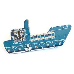 брошь Digital Ship