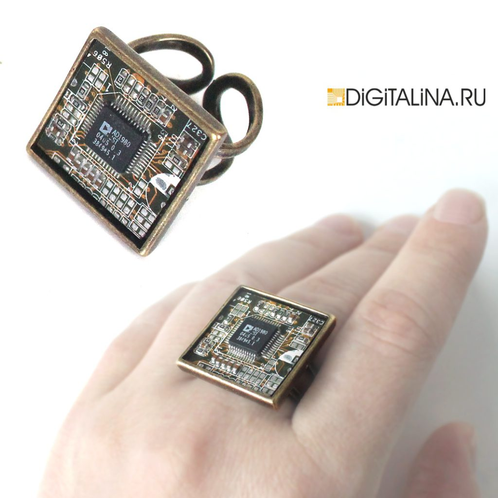 Квадратное кольцо «Cyber square»