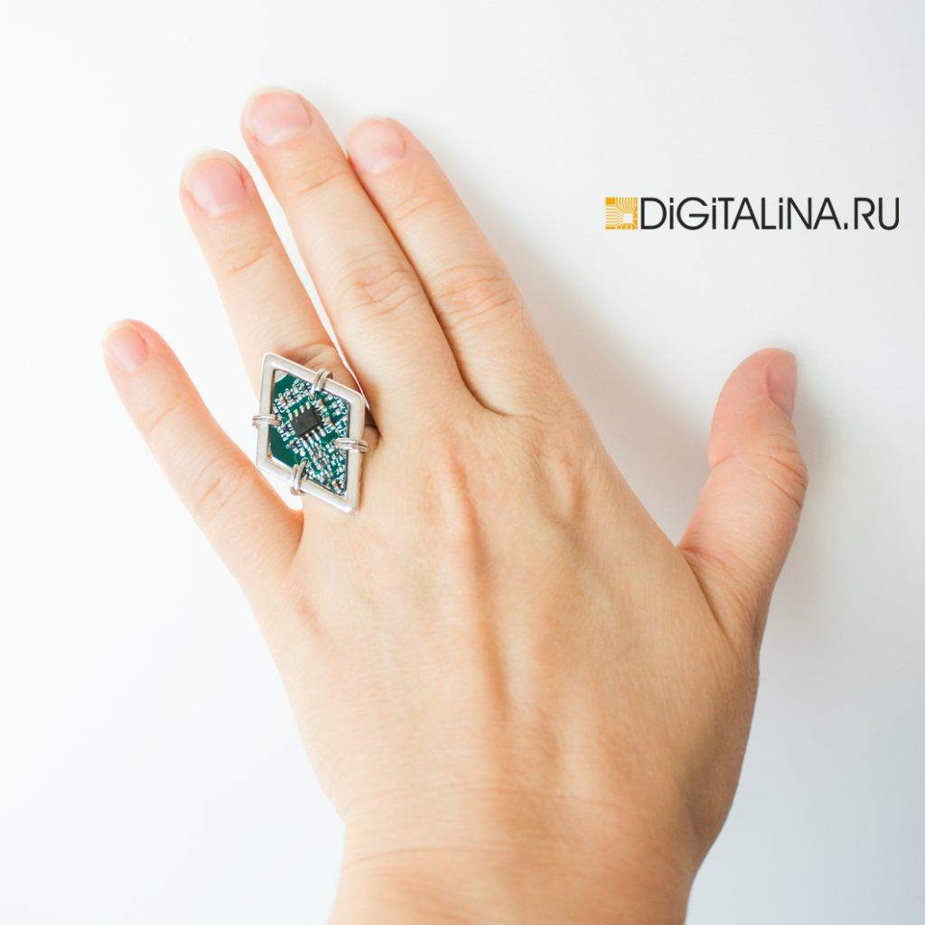 Cyber Rhombus ring
