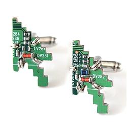 PCB Cursor cufflinks