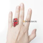 Кольцо «Мягкая цифра»