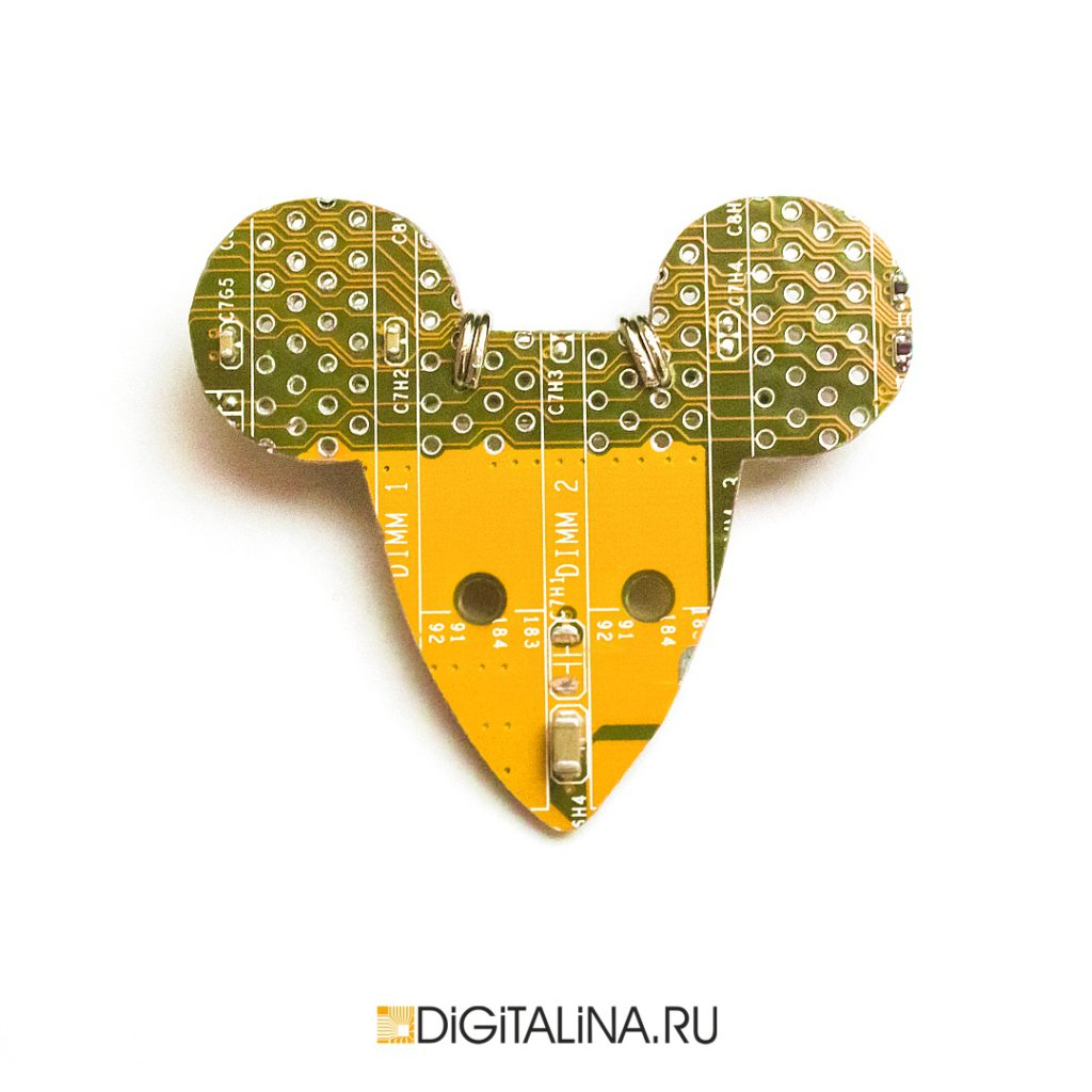 Cyber Mouse Head