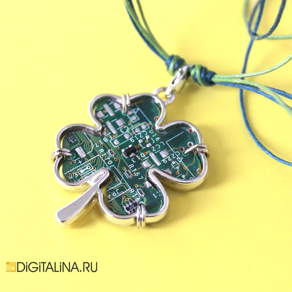 Four-leaf CyberClover