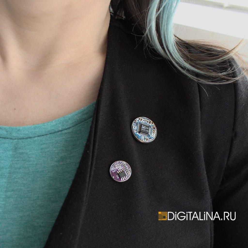 Cyber pin