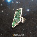 Кольцо «Cyber shards»