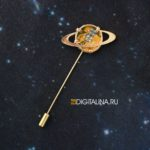 Брошь-игла «Saturn mini»