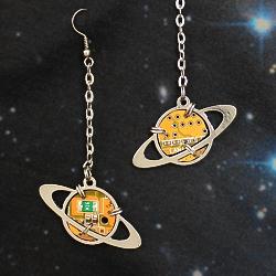 Серьги «Saturn-mini»